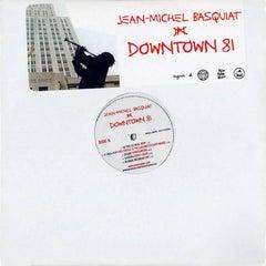 Basquiat Downtown 81 vinyl record soundtrack (SAMO)