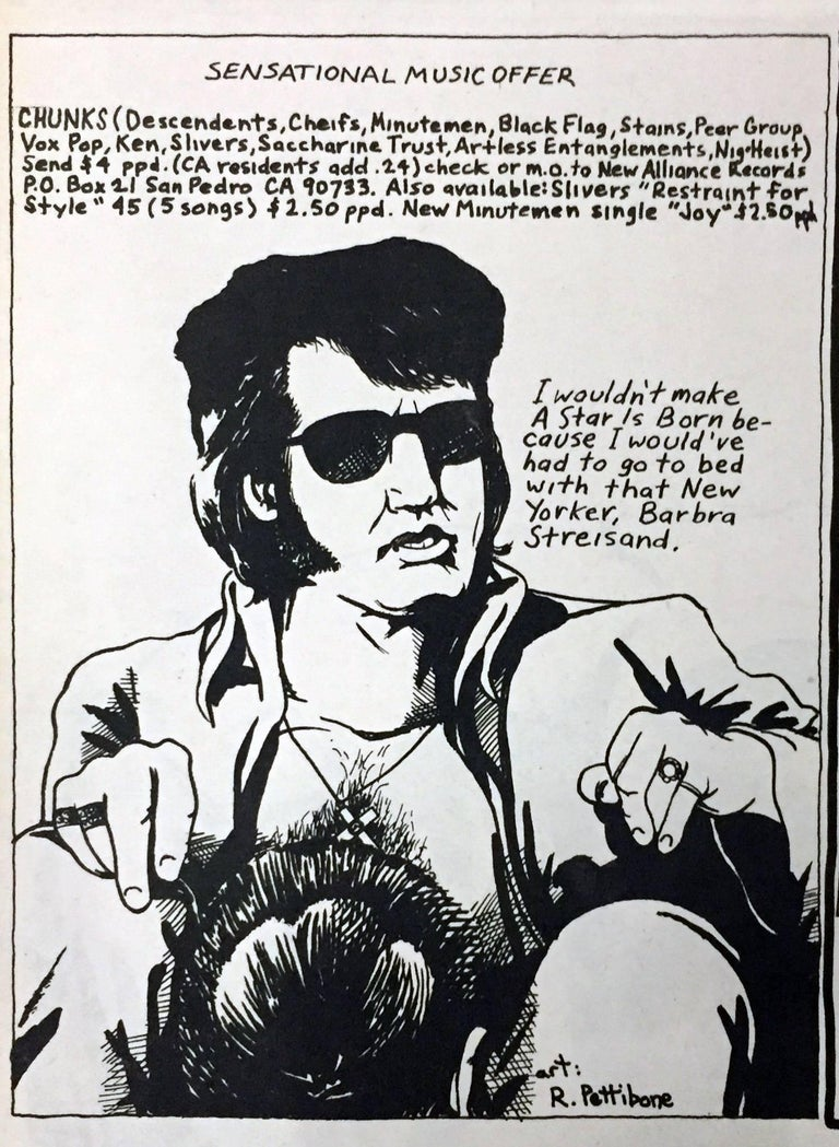 Raymond Pettibon 1980s illustration art (early Raymond Pettibon)