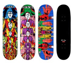 Gilbert & George Supreme skateboard decks: set of 3 (Gilbert & George pictures)