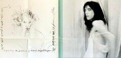 Robert Mapplethorpe Patti Smith 1978 exhibit poster