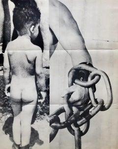 John Baldessari 1987 exhibition poster (John Baldessari at Sonnabend 1987)
