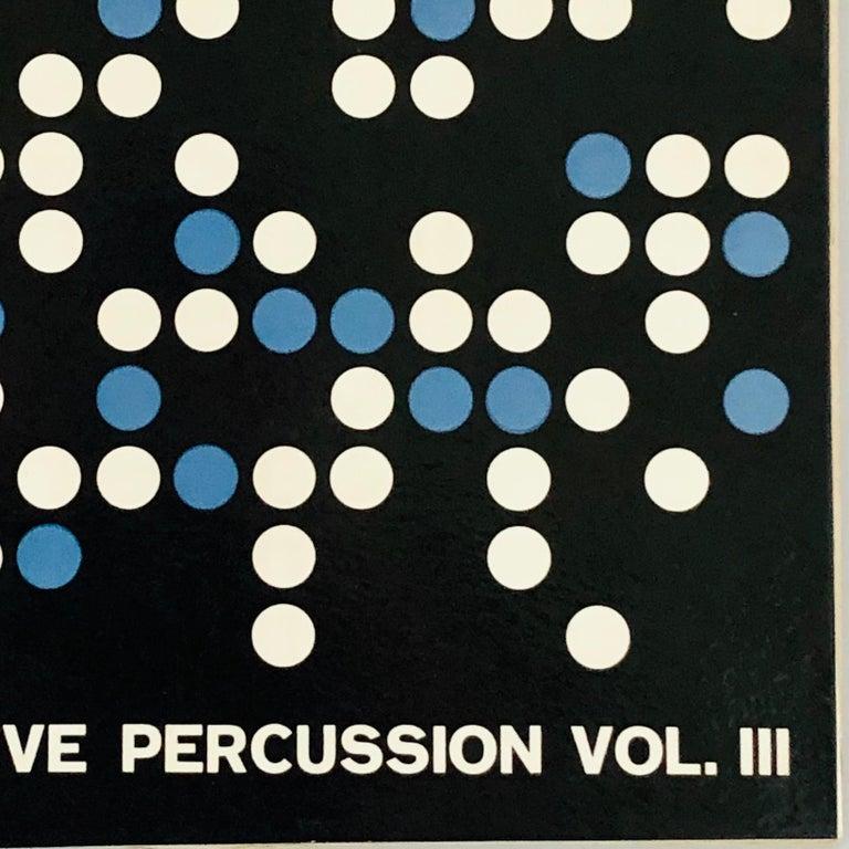 Josef Albers vinyl record art (1950s Albers)  For Sale 3