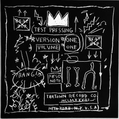 Basquiat Beat Bop Record Art