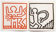 Keith Haring 1984 poster announcement (Keith Haring at Paul Maenz 1984)