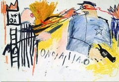 Basquiat Bruno Bischofberger 1993 announcement
