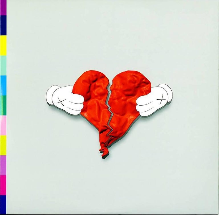 KAWS Record Art 2008 (Kanye West 808s and Heartbreak 1st pressing) - Print by KAWS