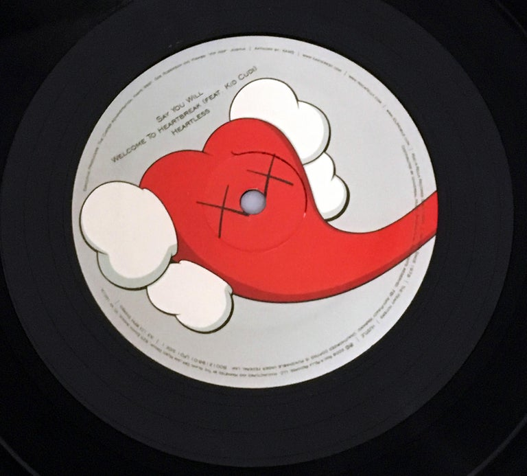 KAWS Record Art 2008 (Kanye West 808s and Heartbreak 1st pressing) 3