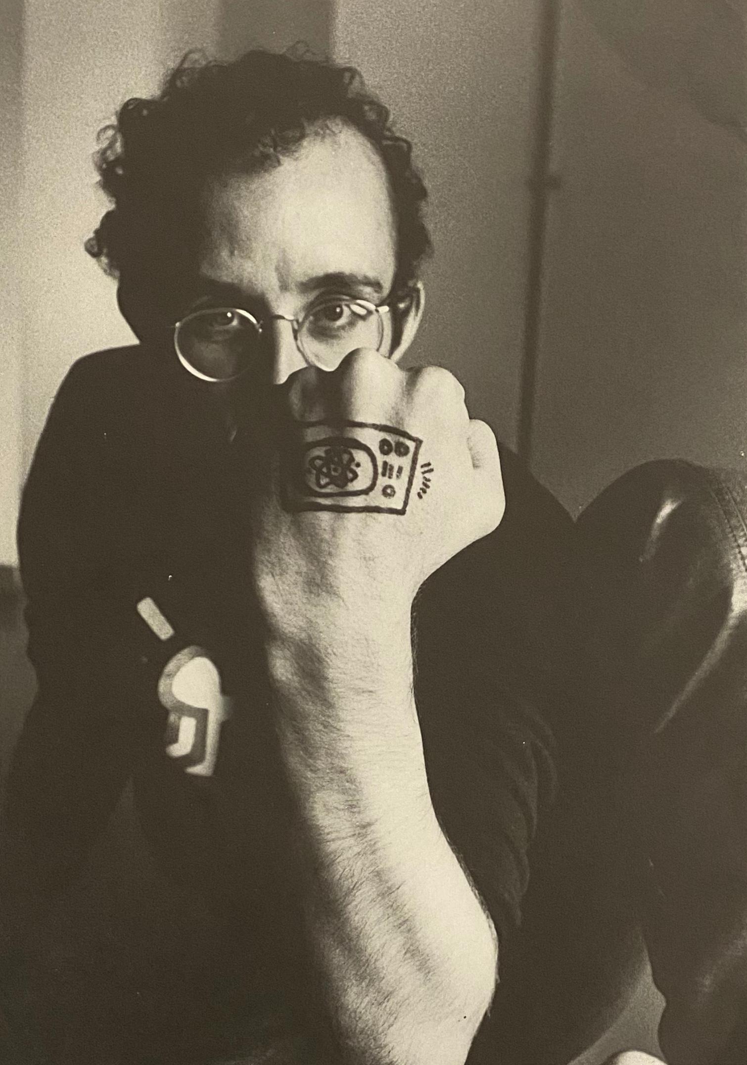 Keith Haring 1984 exhibition catalog (Keith Haring Paul Maenz 1984)