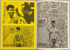 Keith Haring 1984 Paul Maenz catalog (vintage Keith Haring)