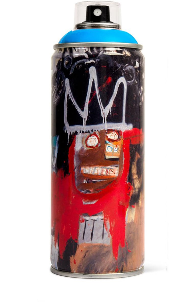 Limited edition Basquiat spray paint can - Mixed Media Art by after Jean-Michel Basquiat