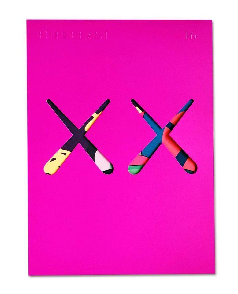 KAWS cover art