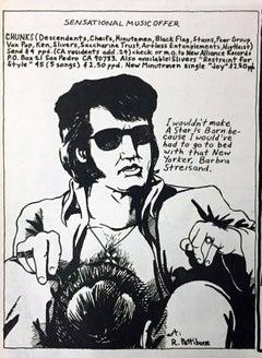 Raymond Pettibon 1980s illustration art (early Raymond Pettibon)