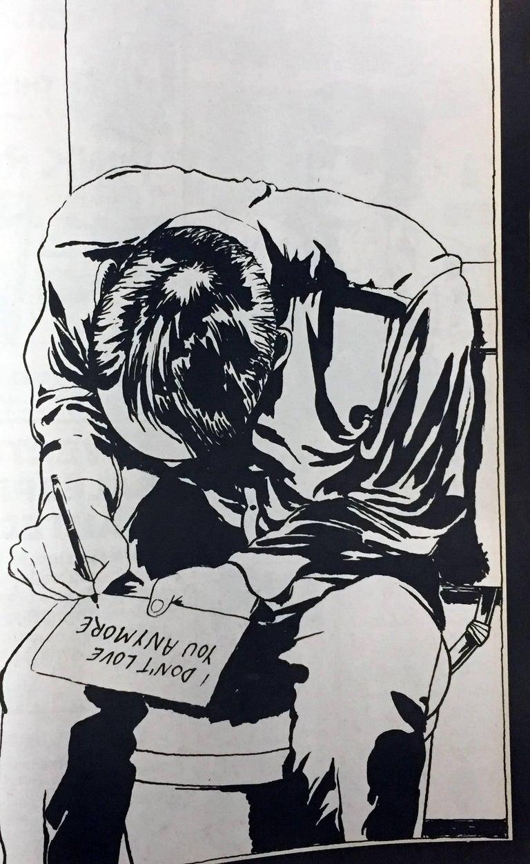 Raymond Pettibon 1980s illustration art (early Raymond Pettibon) 2