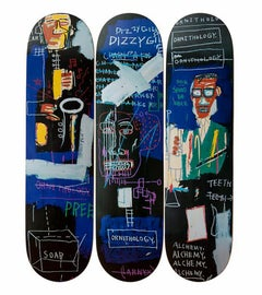 Basquiat Horn Players Skateboard Decks (set of 3)