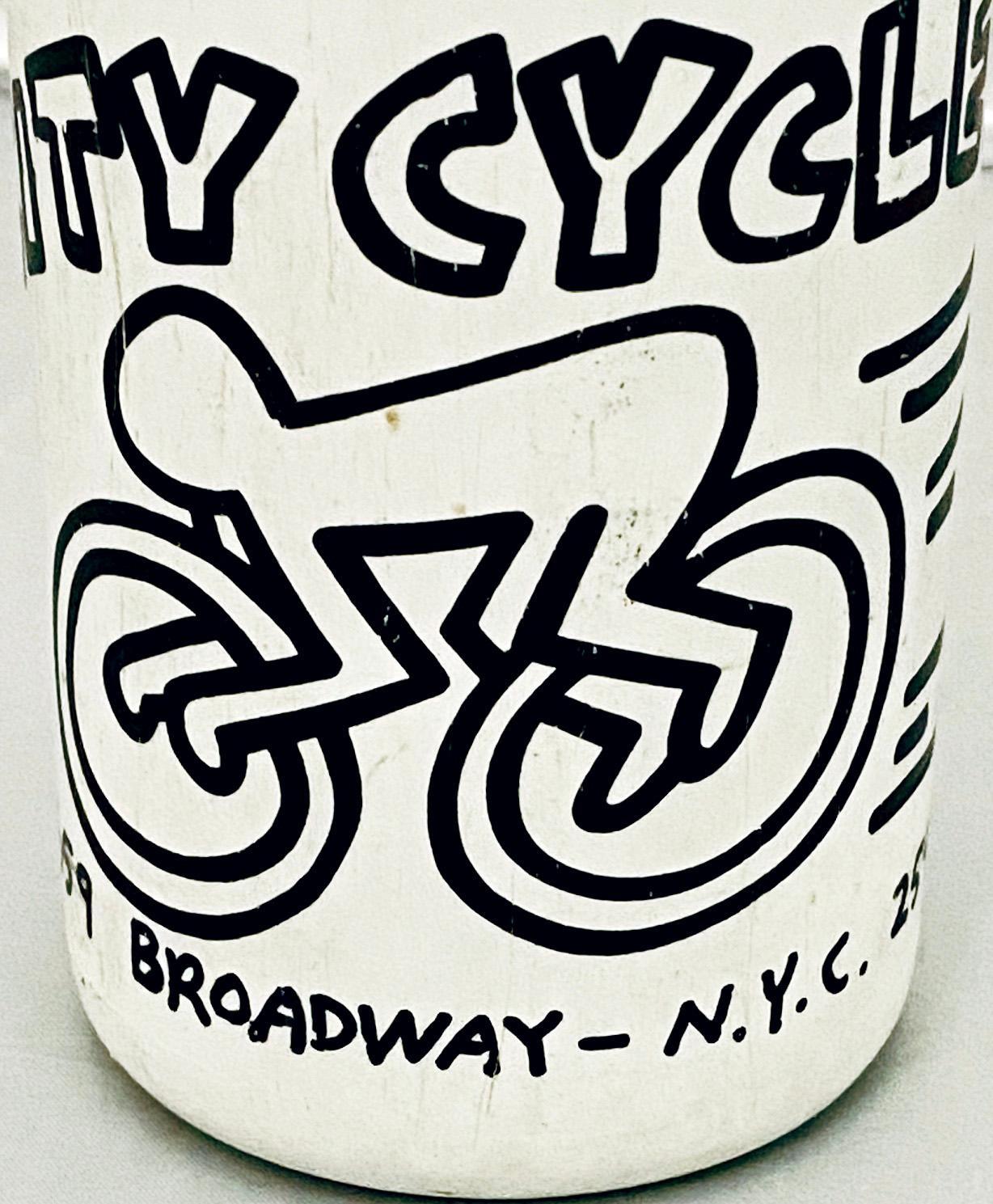 Keith Haring City Cycles 1985 (vintage Keith Haring city cycles)
