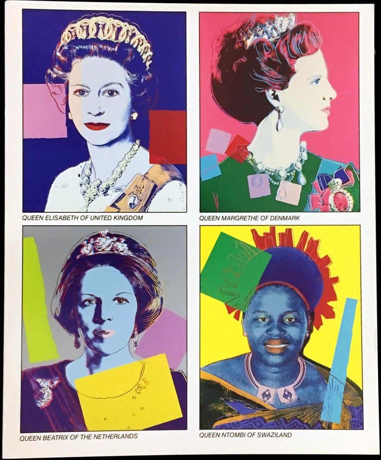 Warhol Reigning Queens announcement 1985 (Warhol at Leo Castelli) - Pop Art Print by (after) Andy Warhol