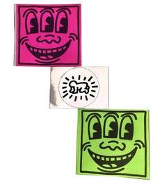 Original Keith Haring Pop Stickers stickers (vintage Keith Haring Pop Shop)