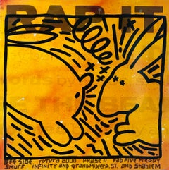 Rare Keith Haring Vinyl Record Art (Keith Haring & Futura)