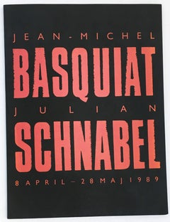 Basquiat Julian Schnabel 1980s exhibition catalog
