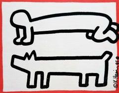 Keith Haring Club DV8 (announcement)