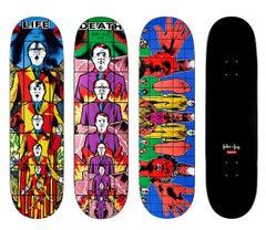 Gilbert & George Supreme skateboard decks: set of 3 (Gilbert & George pictures)