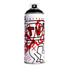 Limited edition Keith Haring spray paint can