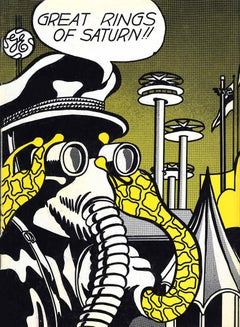 Roy Lichtenstein cover art The World's Fair