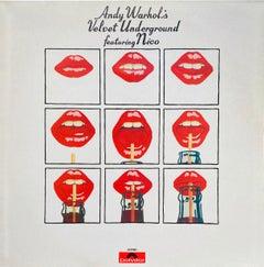 Andy Warhol Velvet Underground Record Art