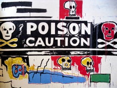 Warhol Basquiat Collaborations catalog 1988 (Poison)