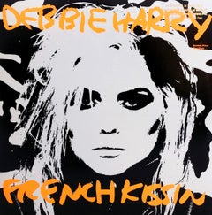 Original Andy Warhol Record Cover Art (Warhol Debbie Harry)
