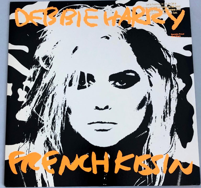 Original Andy Warhol Record Cover Art (Warhol Debbie Harry)  For Sale 1