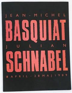 Basquiat Julian Schnabel 1980s exhibition catalog