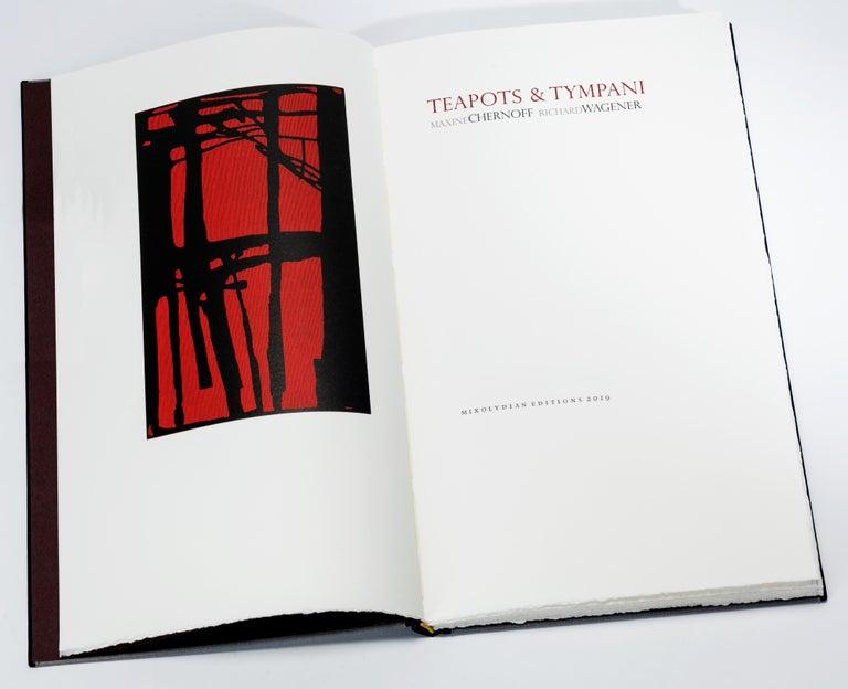 Teapots and Tympani - Mixed Media Art by Richard Wagener