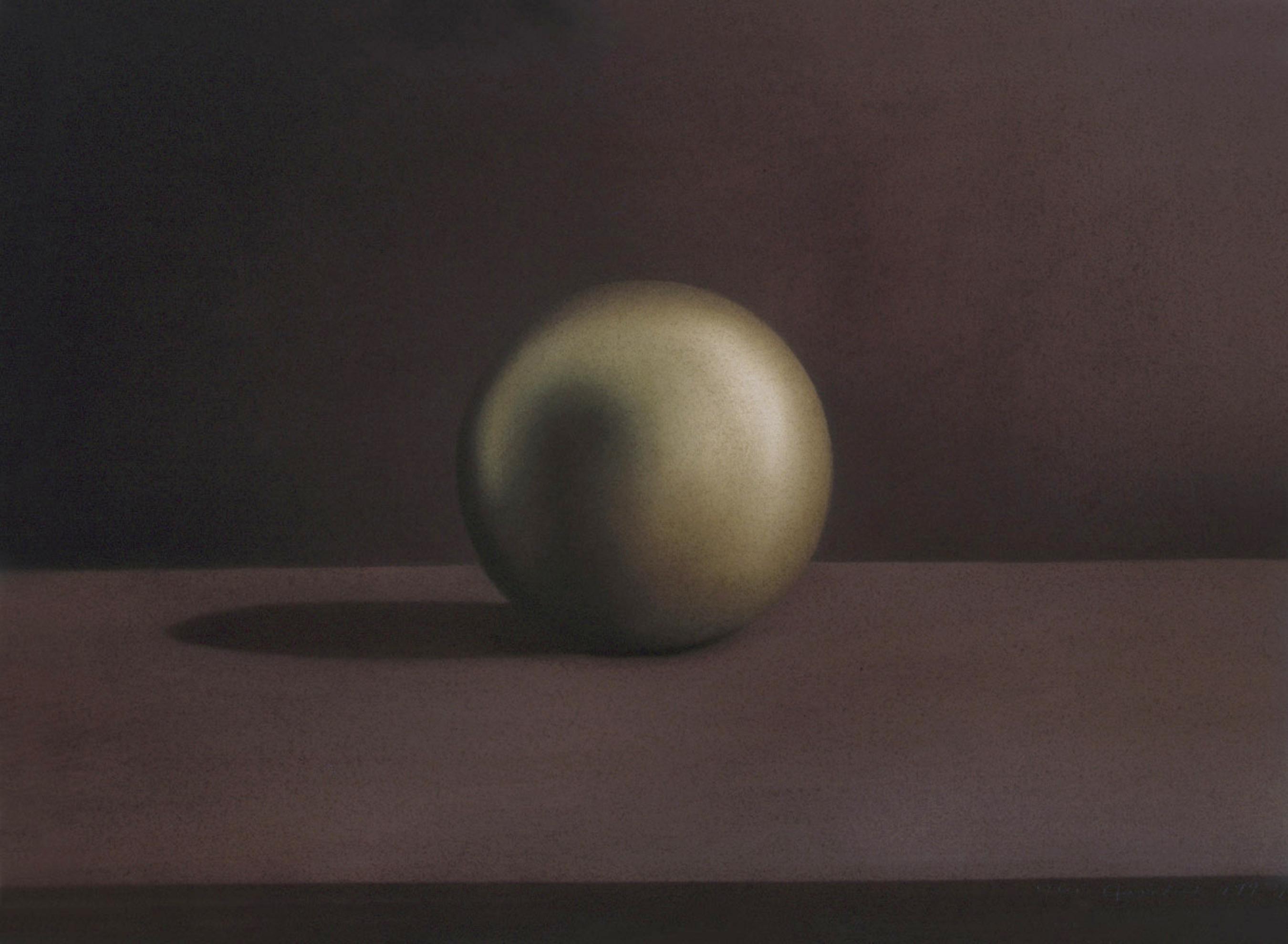 Sphere, Brushed Metal