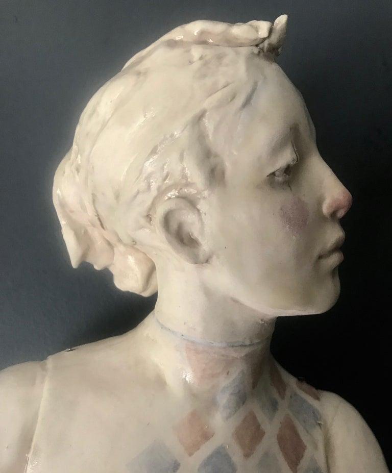 Mabel Stark - Sculpture by Deborah Bridges