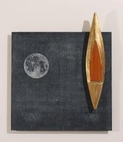 Blackboard/Full Moon/Gold Boat