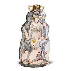 """Untitled Nudes"" by Akio Takamori"