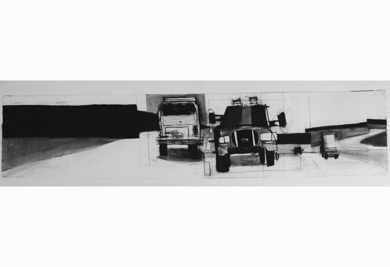 Untitled Trucks - Art by Jonas Wood