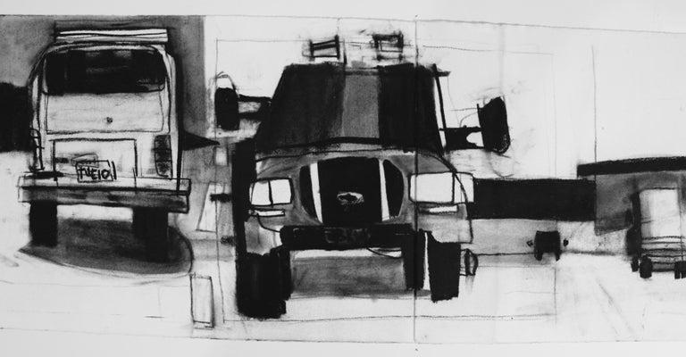 Untitled Trucks - Contemporary Art by Jonas Wood