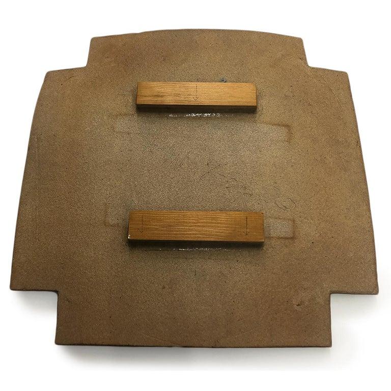 Labyrinth Wall Platter by John Mason  3
