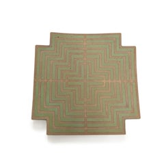 Labyrinth Wall Platter by John Mason