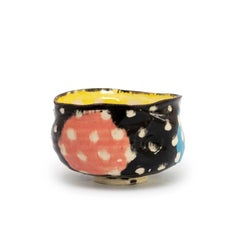 Los Oribe Polka Dot Teabowl (Chawan) by Suzuki Goro