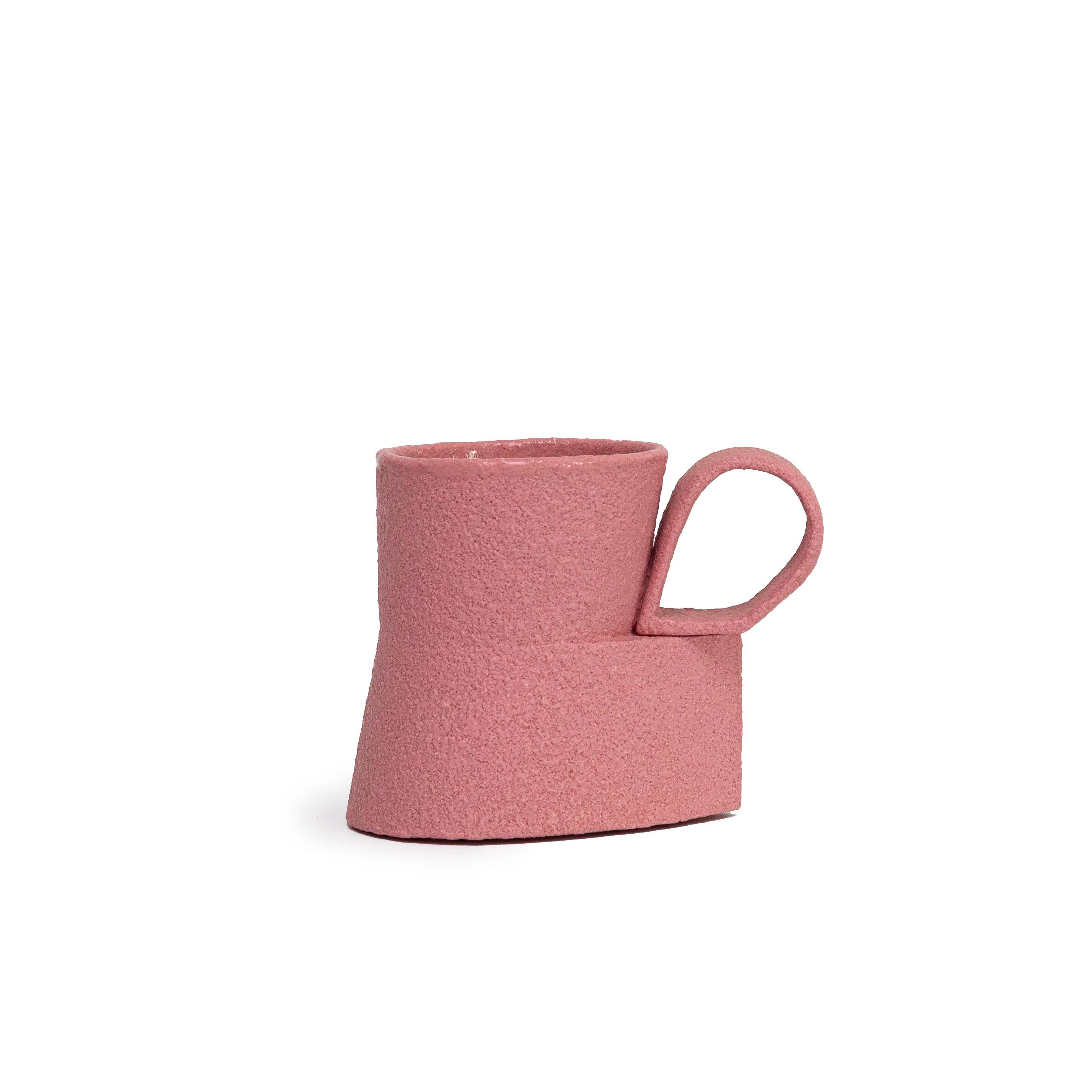 Pink Cadillac Cup by Ron Nagle