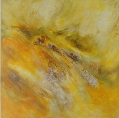 Down Stream-Yellow Shades 48 x 48