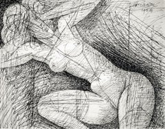 Nu, mains dans ses cheveux (Nude, Hands in Her Hair)
