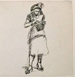 UNTITLED (WOMAN LOOKING IN PURSE).