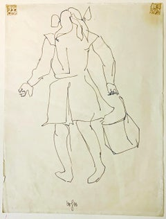 UNTITLED - WOMAN CARRYING A BAG