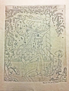 """THREE ETCHINGS OF SCENES FROM """"THE DECAMERON."""""""