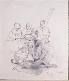 UNTITLED (ARTISTS AND MODEL)