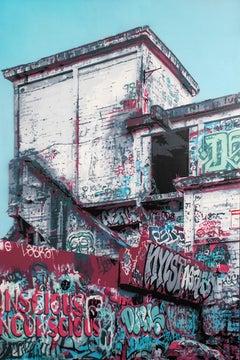 """Cement"" (20 Layer Spray Paint Stencil)"